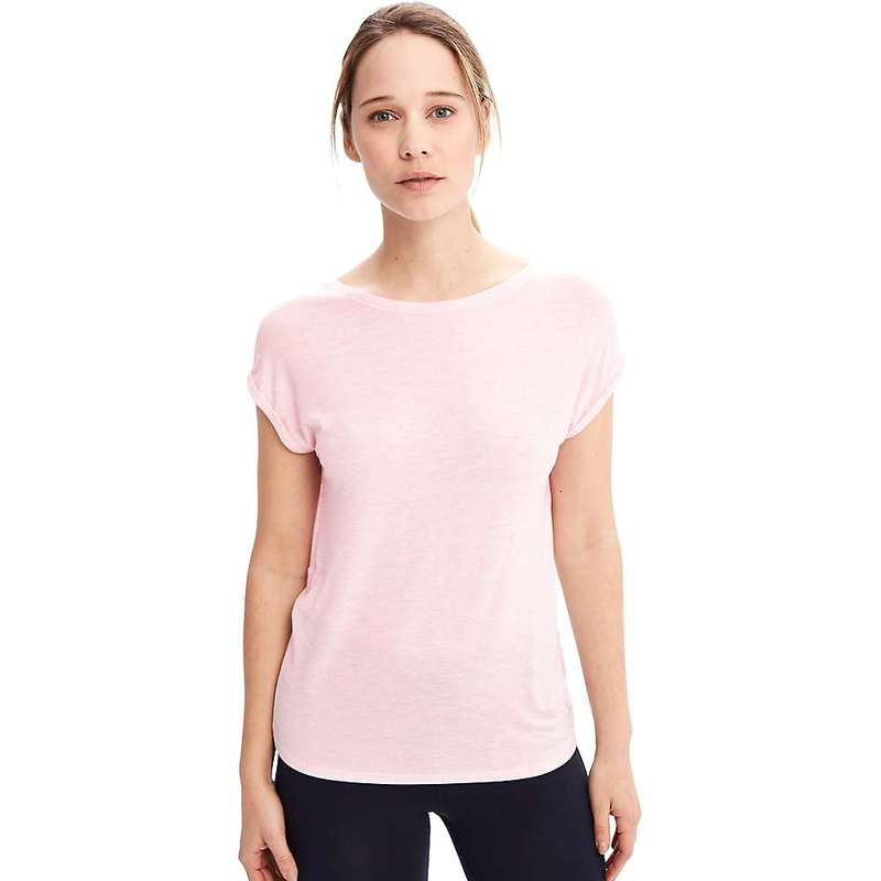 ロル レディース Tシャツ トップス Lole Women's Assent SS Top Pink Salt Heather