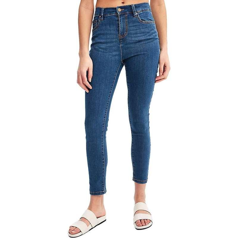ロル レディース カジュアルパンツ ボトムス Lole Women's High Waist Skinny 7/8 Jean True Blue Wash Denim