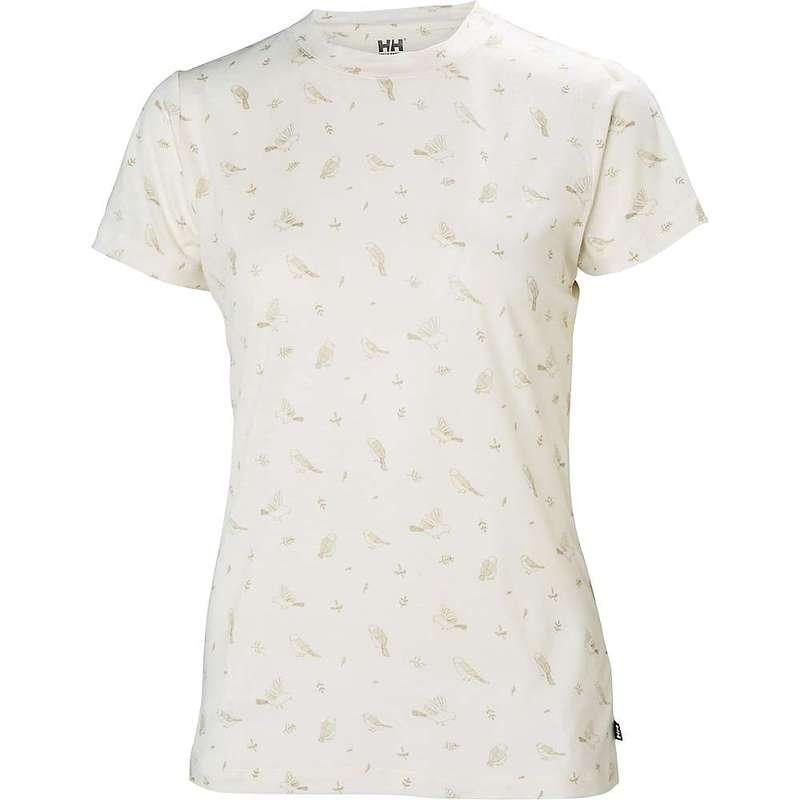 ヘリーハンセン レディース Tシャツ トップス Helly Hansen Women's HH Merino Graphic T-Shirt OFFWHITE PRINT