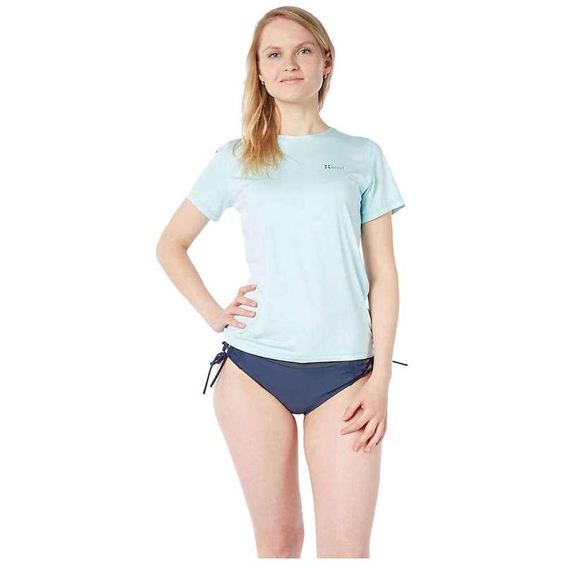 レベルシックス レディース Tシャツ トップス Level Six Women's Oasis SS Top Ice Aqua Melange