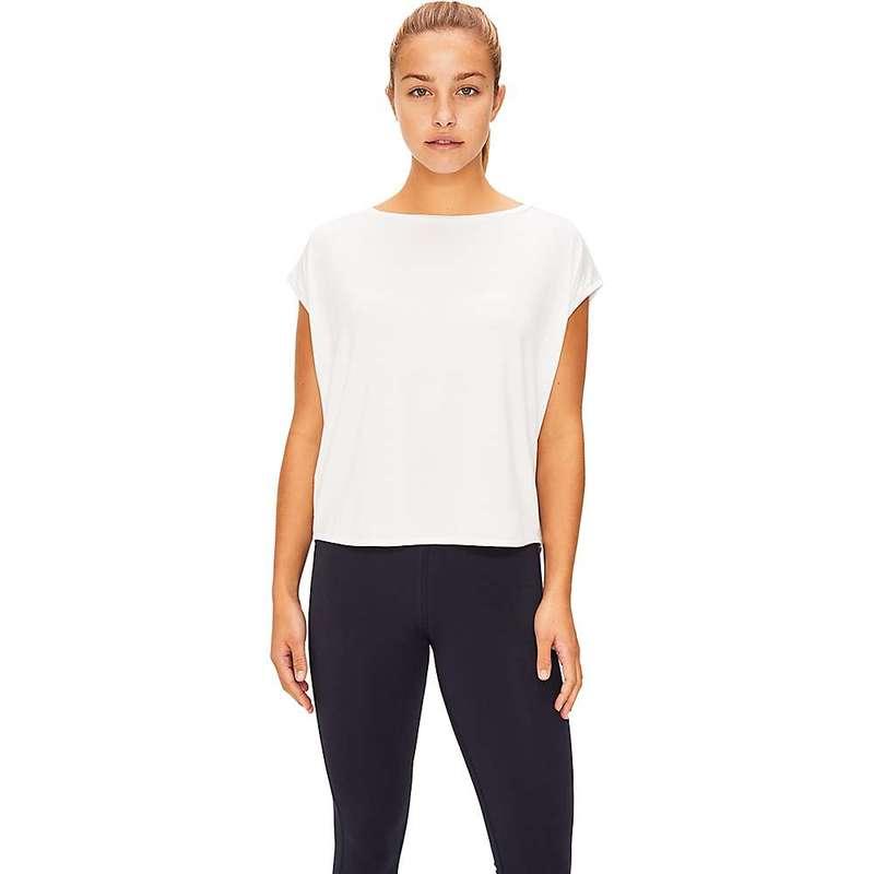 ロル レディース Tシャツ トップス Lole Women's Agda Short Sleeve Top White