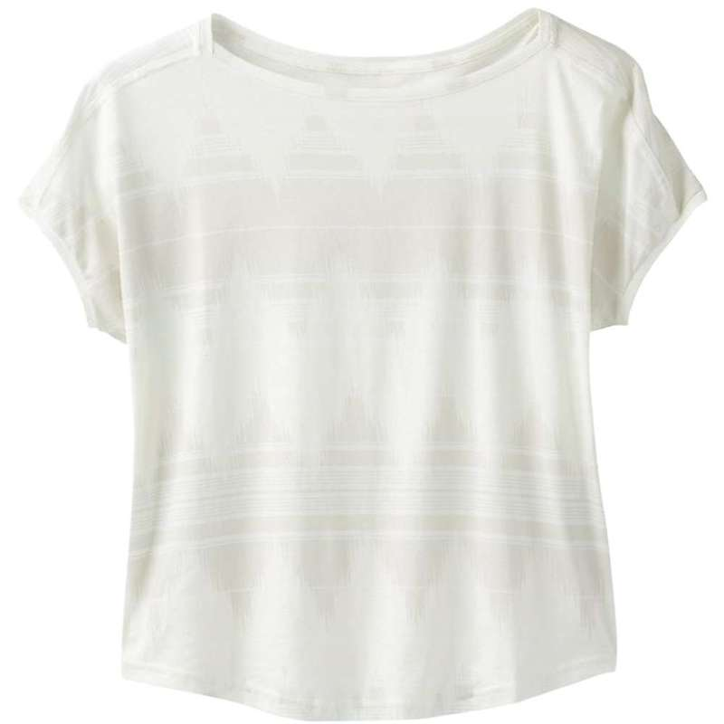 プラーナ レディース Tシャツ トップス Prana Women's Shenay Top Plus Stone