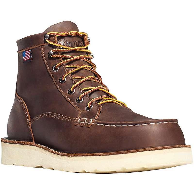 着後レビューで 送料無料 サイズ交換無料 ダナー メンズ シューズ ブーツ レインブーツ Brown Danner Run Moc 6IN Boot ST 国内正規総代理店アイテム Toe Bull Men's