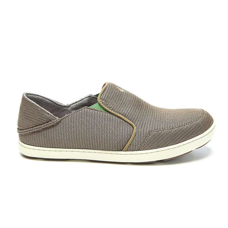 オルカイ メンズ スニーカー シューズ OluKai Men's Nohea Mesh Shoe Mustang / Lime Peel