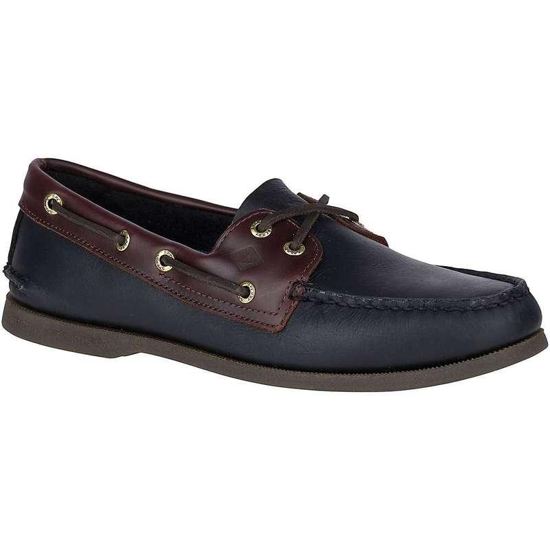 スペリー メンズ スニーカー シューズ Sperry Men's A/O 2 Eye Shoe Black / Amaretto