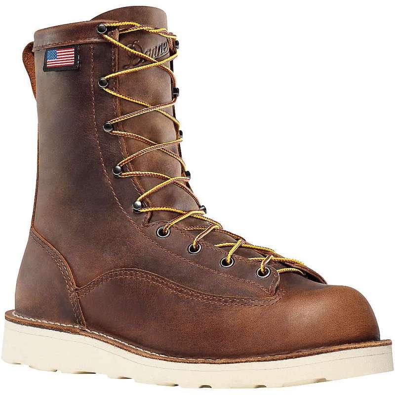 送料無料 サイズ交換無料 ダナー メンズ シューズ ブーツ レインブーツ Men's 8IN 激安卸販売新品 日本 Bull Brown Danner Run Boot