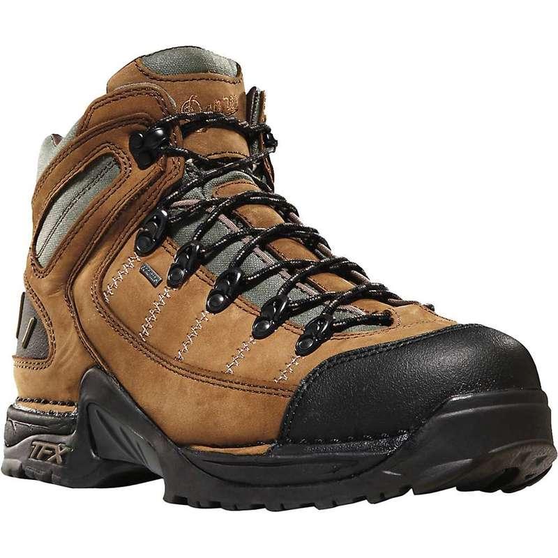 送料無料 サイズ交換無料 買収 ダナー メンズ シューズ ブーツ レインブーツ Dark Danner Men's 5.5IN 453 営業 Boot GTX Tan