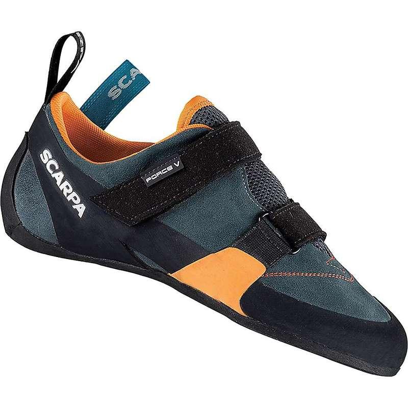 スカルパ メンズ スニーカー シューズ Scarpa Men's Force V Climbing Shoe Mangrove/Papaya