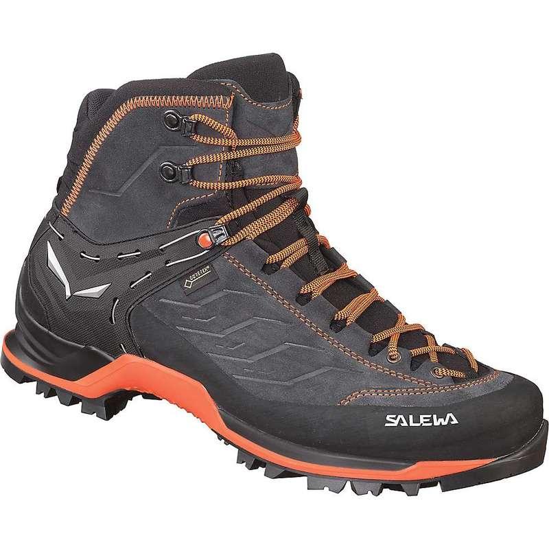 【送料無料(一部地域を除く)】 サレワ メンズ ブーツ・レインブーツ シューズ Salewa Men's MTN Trainer Mid GTX Boot Asphalt/Fluo Orange, 高品質の人気 aa4d5969