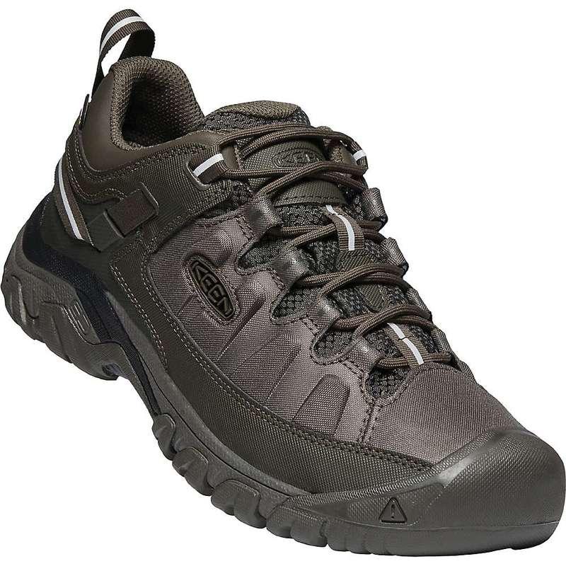 キーン メンズ ブーツ・レインブーツ シューズ Keen Men's Targhee Exp Waterproof Shoe Black Olive / Black Olive