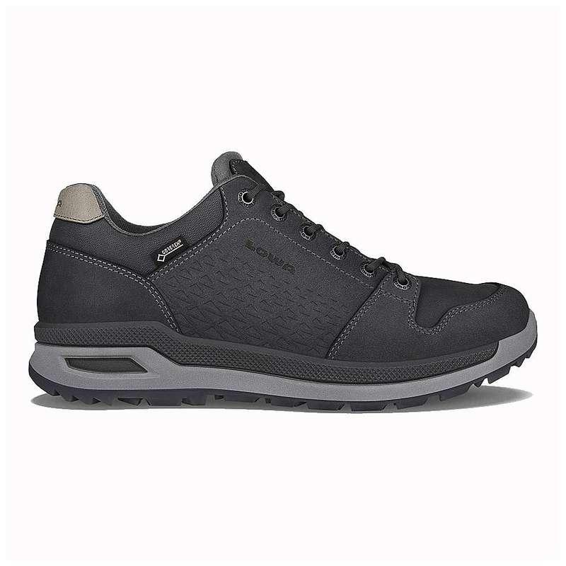 ロワブーツ メンズ ブーツ・レインブーツ シューズ Lowa Men's Locarno GTX Lo Shoe Anthracite