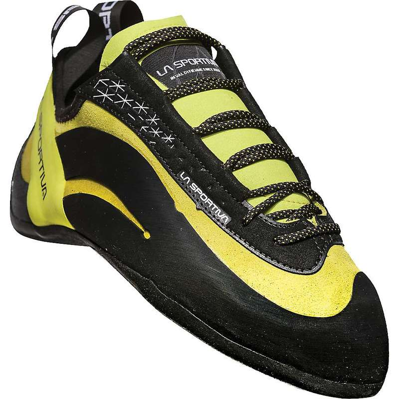 ラスポルティバ メンズ スニーカー シューズ La Sportiva Men's Miura Climbing Shoe Lime