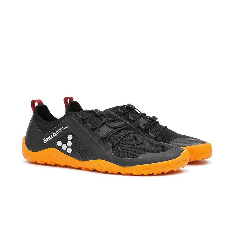 ビボベアフット メンズ スニーカー シューズ Vivo Barefoot Men's Primus Swimrun FG Shoe Black/Orange