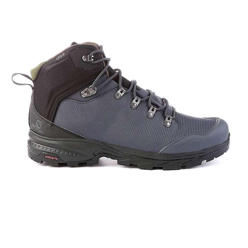 サロモン メンズ ブーツ・レインブーツ シューズ Salomon Men's Outback 500 GTX Boot Ebony / Black / Grape Leaf