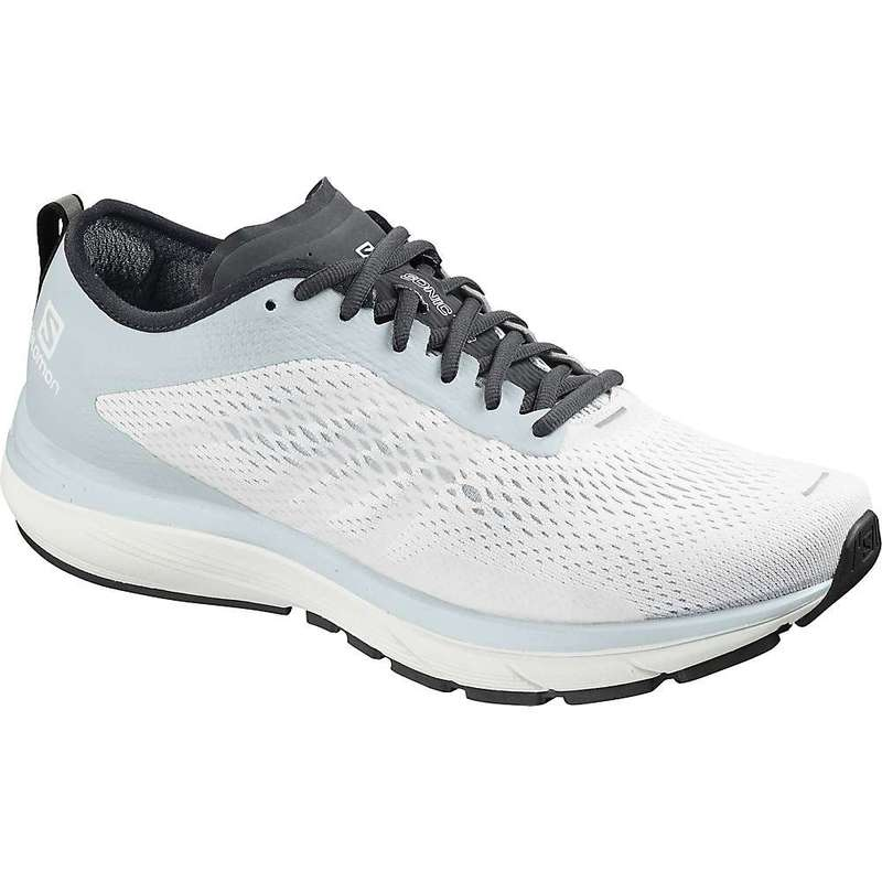サロモン メンズ スニーカー シューズ Salomon Men's Sonic RA 2 Shoe White / Pearl Blue / Ebony