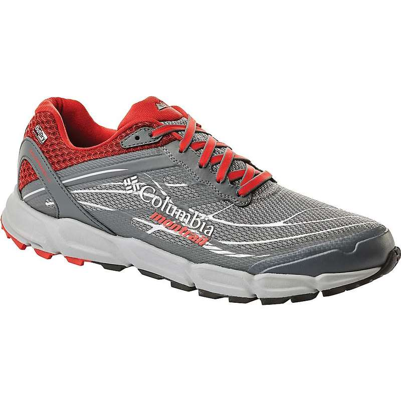 コロンビア メンズ スニーカー シューズ Columbia Men's Caldorado III OutDry Shoe Ti Grey Steel / Bright Red