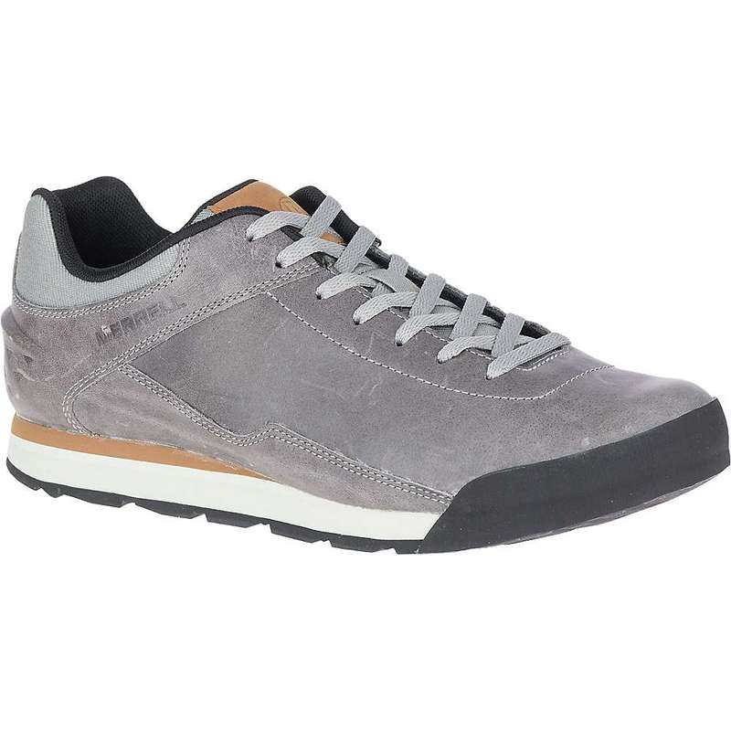メレル メンズ スニーカー シューズ Merrell Men's Burnt Rock Leather Shoe Paloma