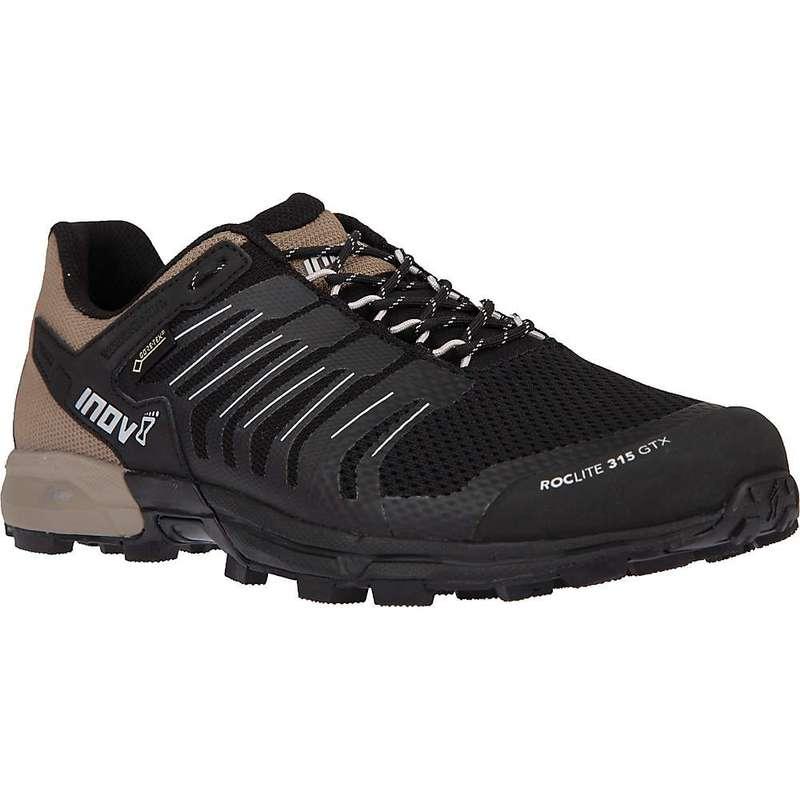 イノヴェイト メンズ スニーカー シューズ Inov8 Men's Roclite 315 GTX Shoe Black / Brown
