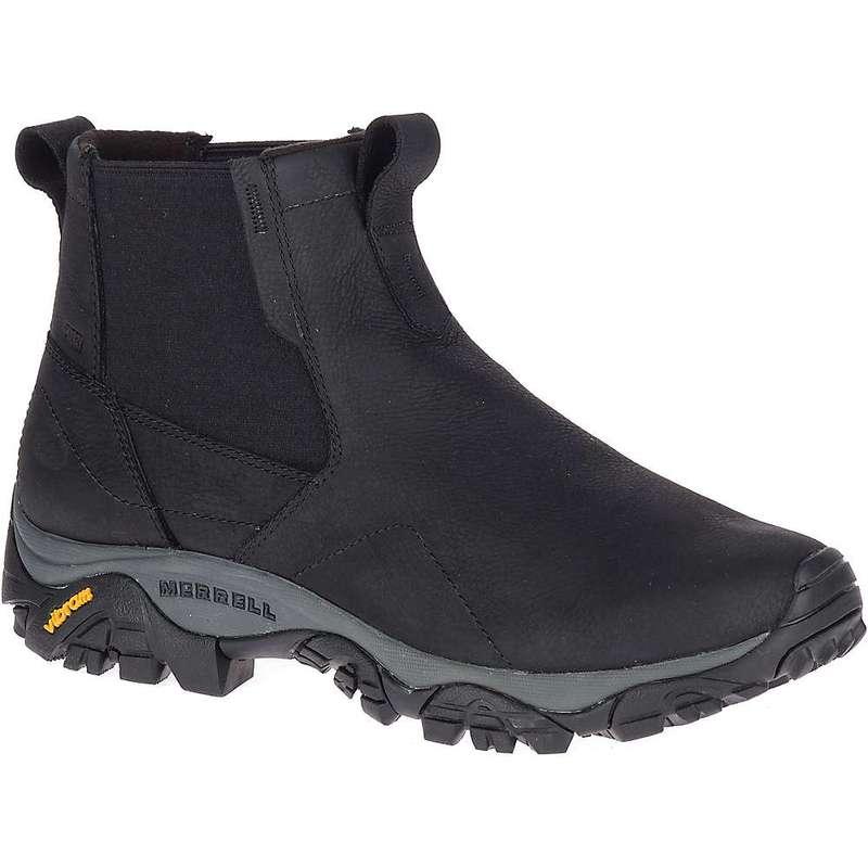 メレル メンズ ブーツ・レインブーツ シューズ Merrell Men's Moab Adventure Chelsea Polar Waterproof Shoe Black