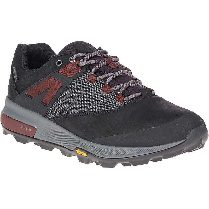 メレル メンズ ブーツ・レインブーツ シューズ Merrell Men's Zion Waterproof Shoe Black