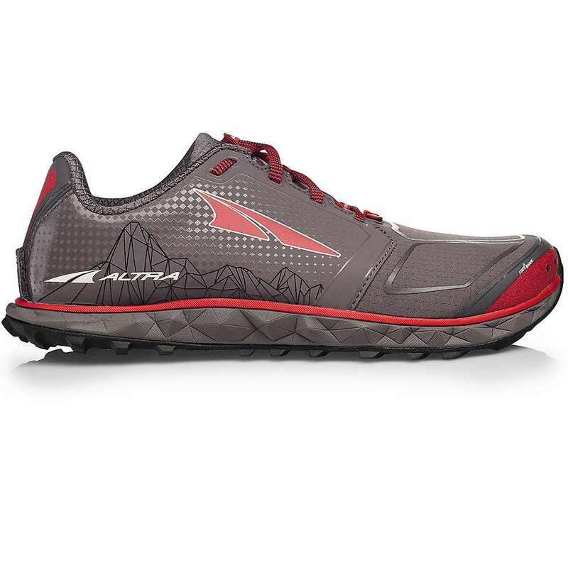オルトラ メンズ スニーカー シューズ Altra Men's Superior 4.0 Shoe Grey / Red