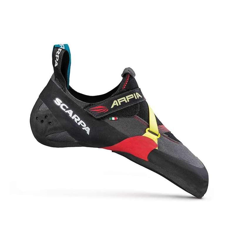 スカルパ メンズ スニーカー シューズ Scarpa Men's Arpia Climbing Shoe Black/Red