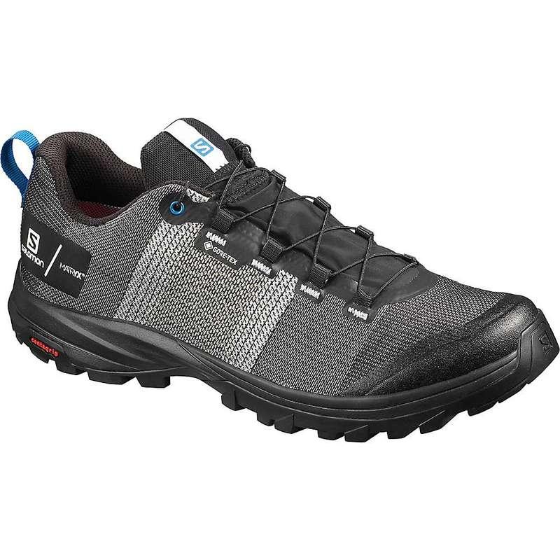 サロモン メンズ ブーツ・レインブーツ シューズ Salomon Men's Out GTX/Pro Shoe White/Black/Imperial Blue