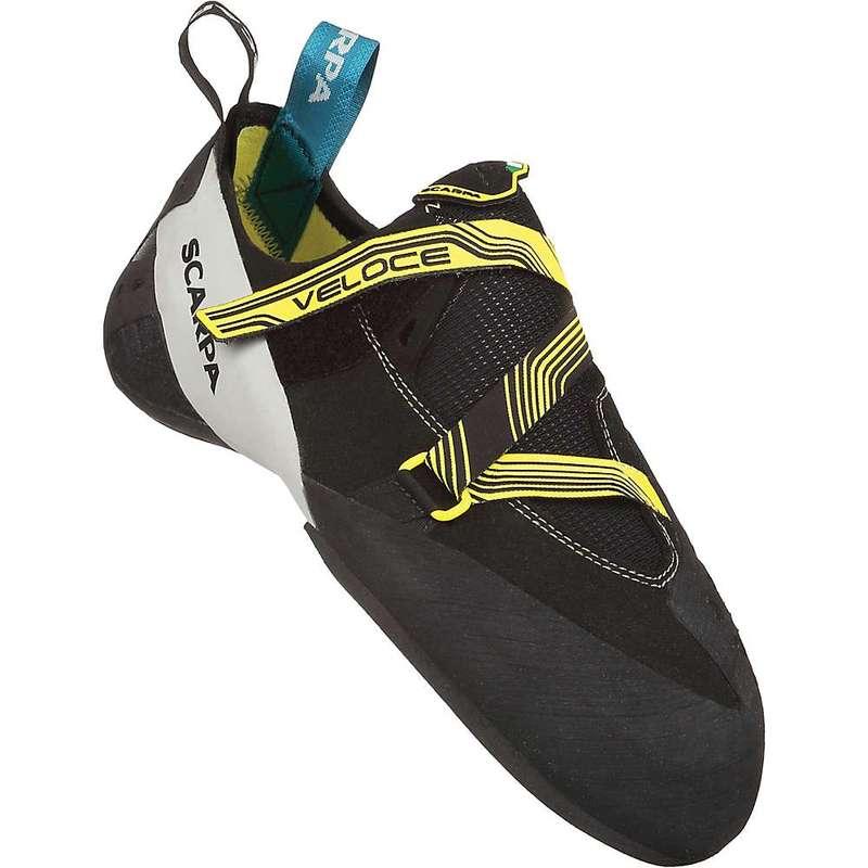 スカルパ メンズ スニーカー シューズ Scarpa Men's Veloce Climbing Shoe Black/Yellow