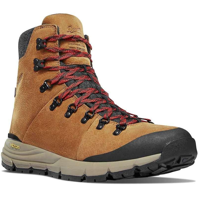 ダナー メンズ ブーツ・レインブーツ シューズ Danner Men's Arctic 600 7IN 200G Insulated Side Zip Boot Brown / Red