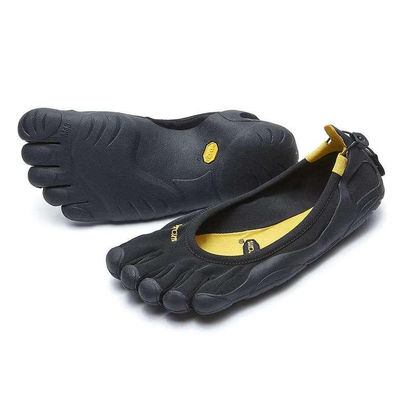 ビブラムファイブフィンガーズ メンズ スニーカー シューズ Vibram Five Fingers Men's Classic Shoe Black / Black