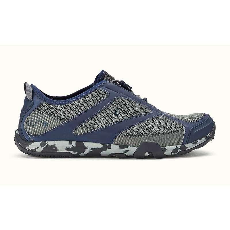 オルカイ メンズ スニーカー シューズ Olukai Men's 'Eleu Trainer Shoe Charcoal/Trench Blue