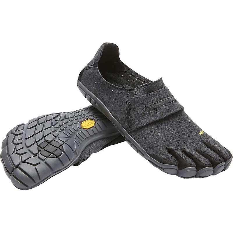 ビブラムファイブフィンガーズ メンズ スニーカー シューズ Vibram Five Fingers Men's CVT Hemp Shoe Black