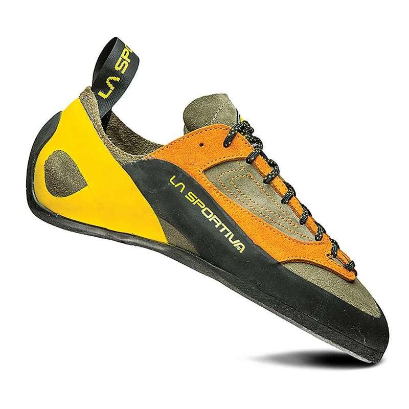 ラスポルティバ メンズ スニーカー シューズ La Sportiva Men's Finale Climbing Shoe Brown / Orange