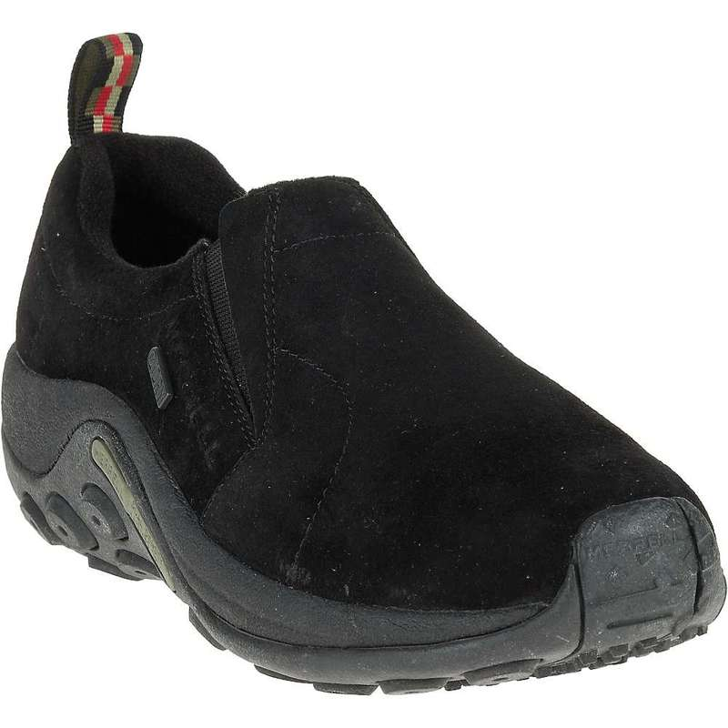 メレル メンズ スニーカー シューズ Merrell Men's Jungle Moc Waterproof Shoe Black