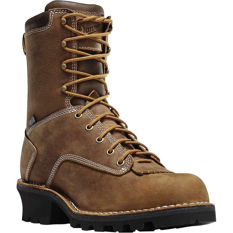 ダナー メンズ ブーツ・レインブーツ シューズ Danner Men's Danner Logger 8IN 400G Insulated Boot Brown