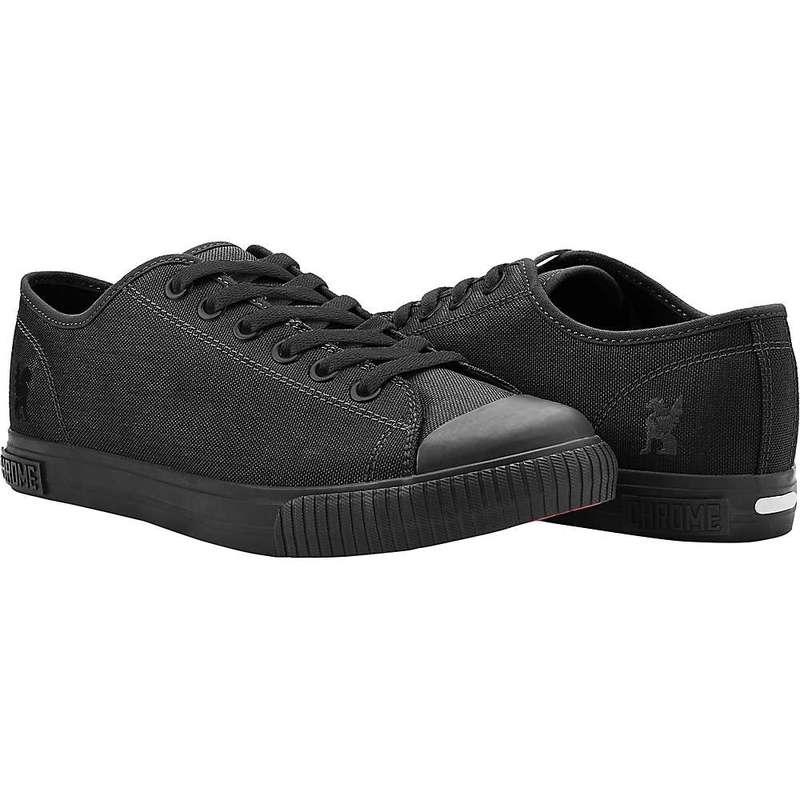 クローム インダストリーズ メンズ スニーカー シューズ Chrome Industries Men's Kursk Pedal Shoe Black / Black