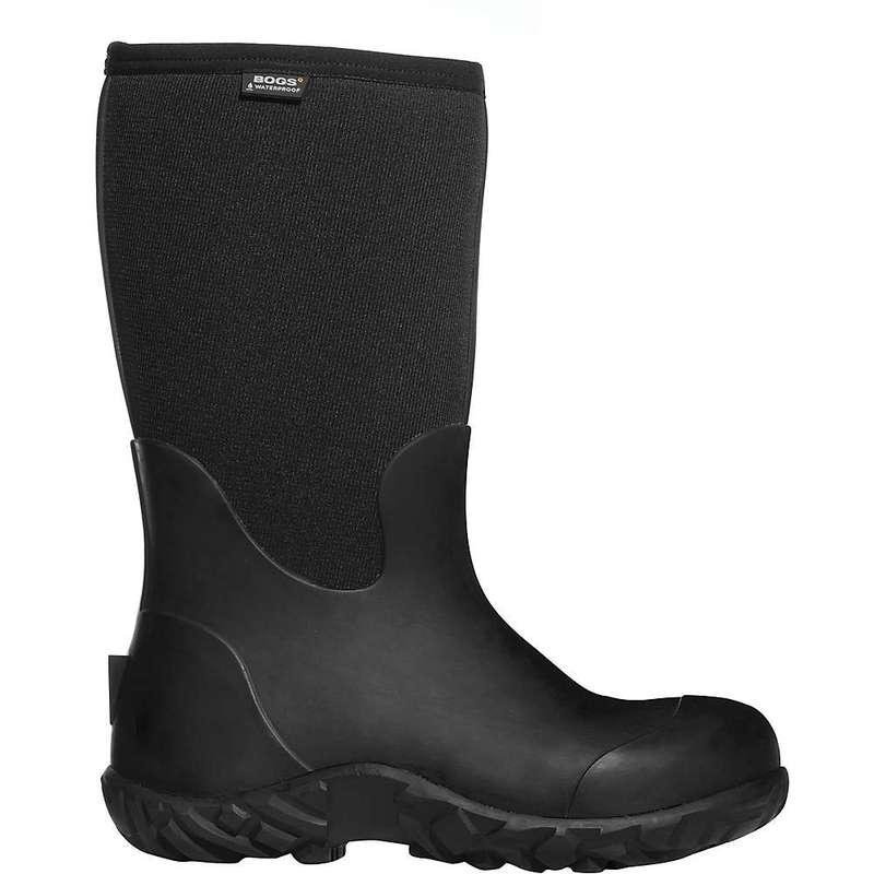 ボグス メンズ ブーツ・レインブーツ シューズ Bogs Men's Workman Boot Black
