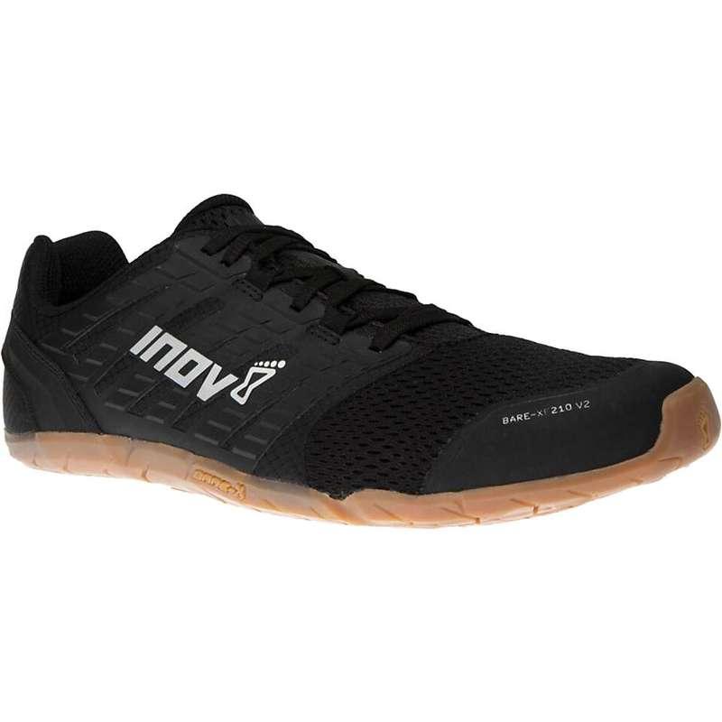 イノヴェイト メンズ スニーカー シューズ Inov8 Men's Bare-XF 210 V2 Shoe Black/Gum