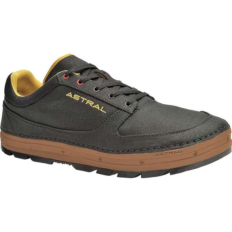 アストラル メンズ スニーカー シューズ Astral Men's Hemp Donner Shoe Black/Brown