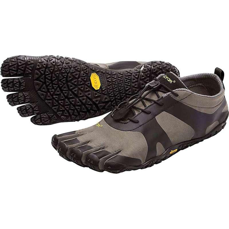 ビブラムファイブフィンガーズ メンズ スニーカー シューズ Vibram Five Fingers Men's V-Alpha Shoe Grey / Black