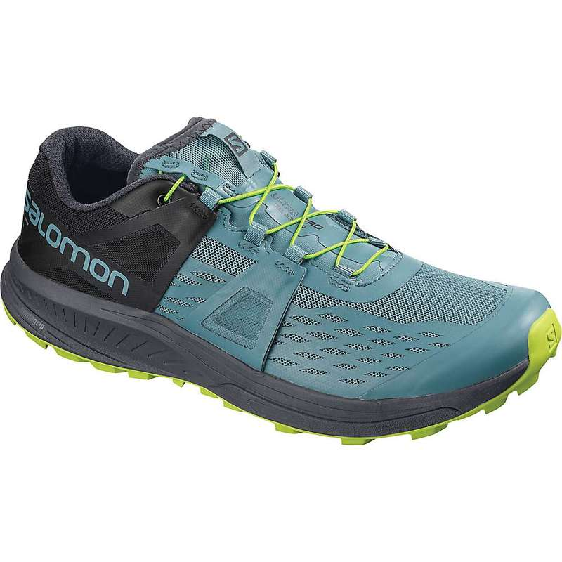 サロモン メンズ スニーカー シューズ Salomon Men's Ultra Pro Shoe Bluestone / Ebony / Acid Lime