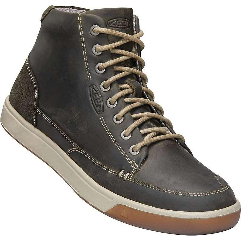 キーン メンズ スニーカー シューズ Keen Men's Glenhaven Mid Sneaker Dark Olive / Black Olive