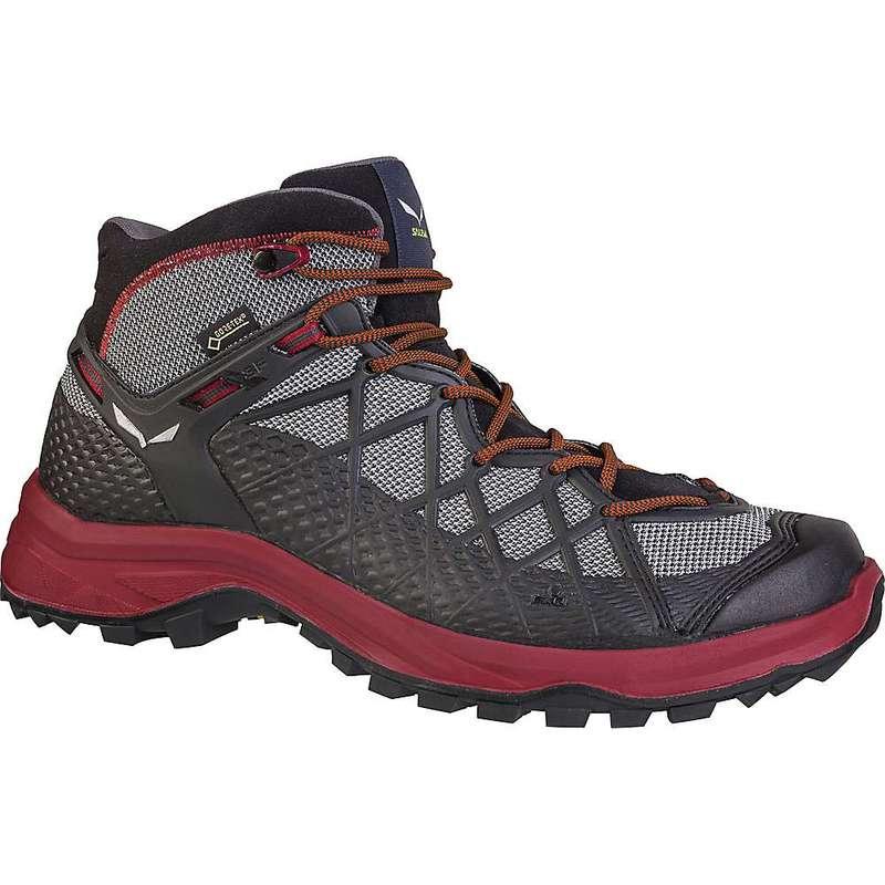 サレワ メンズ ブーツ・レインブーツ シューズ Salewa Men's Wild Hiker Mid GTX Shoe Black / Biking Red