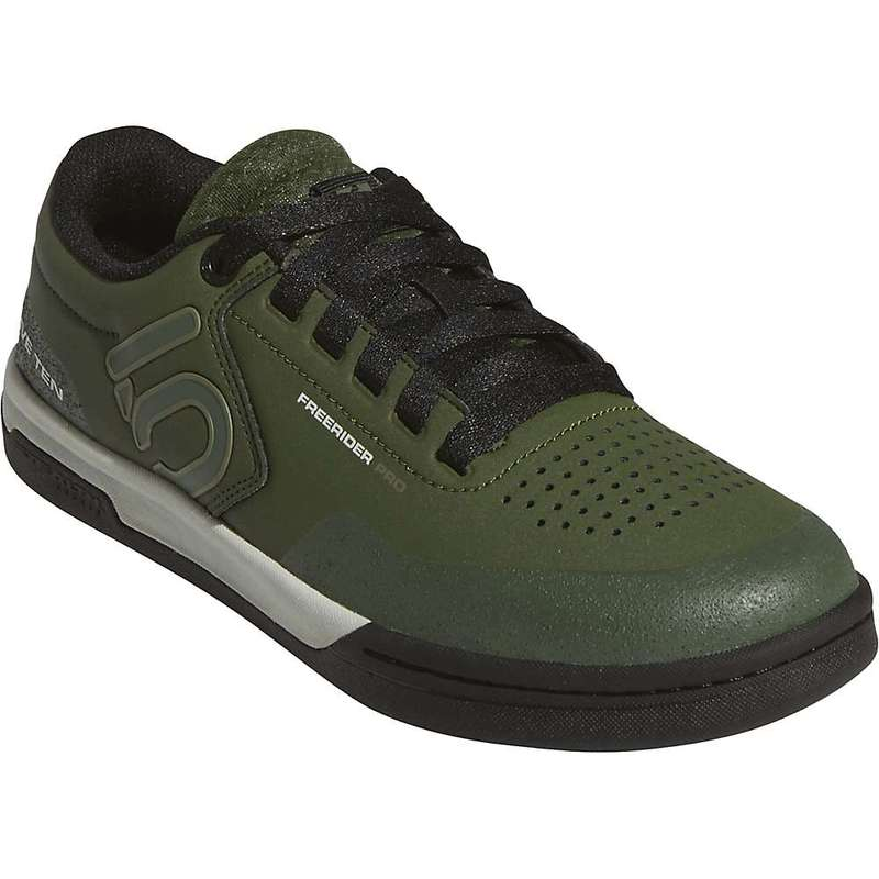 ファイブテン メンズ スニーカー シューズ Five Ten Men's Freerider Pro Shoe Strong Olive / Raw Khaki / Ash Silver