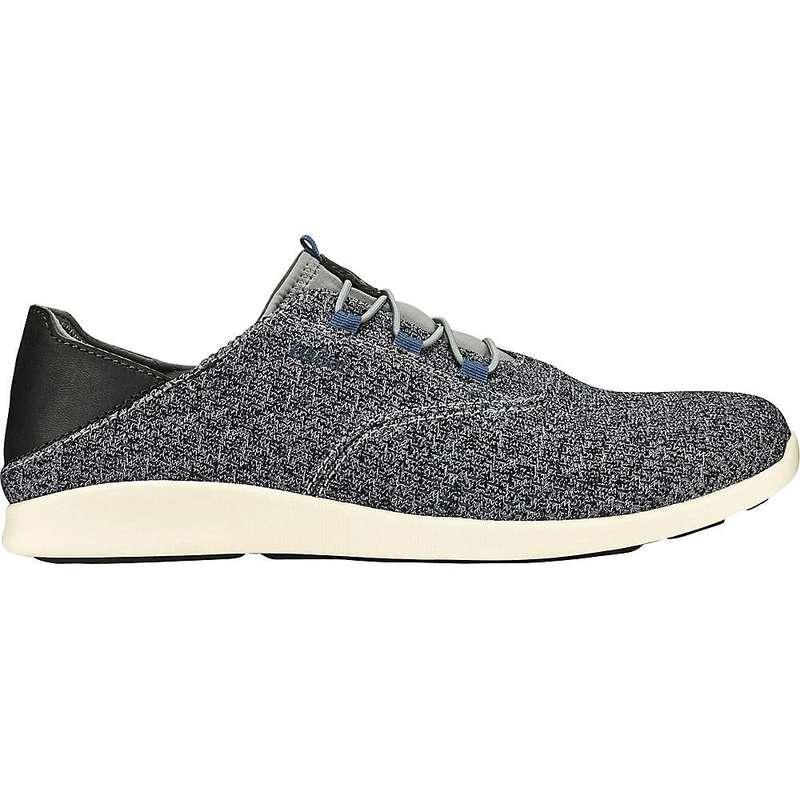 オルカイ メンズ スニーカー シューズ Olukai Men's 'Alapa Li Shoe Charcoal / Charcoal