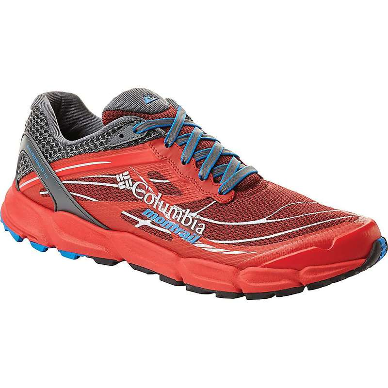 コロンビア メンズ スニーカー シューズ Columbia Men's Caldorado III Shoe Red Element / Hyper Blue