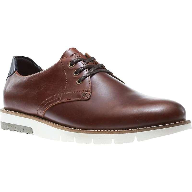 ウルヴァリン メンズ スニーカー シューズ Wolverine Men's Reuben Oxford Shoe Dark Brown Leather