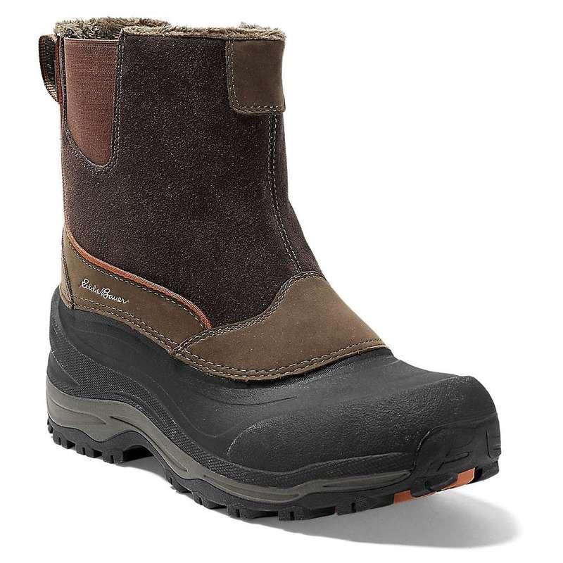 エディー バウアー メンズ ブーツ・レインブーツ シューズ Eddie Bauer Men's Snowfoil Pull-On Boot Timber