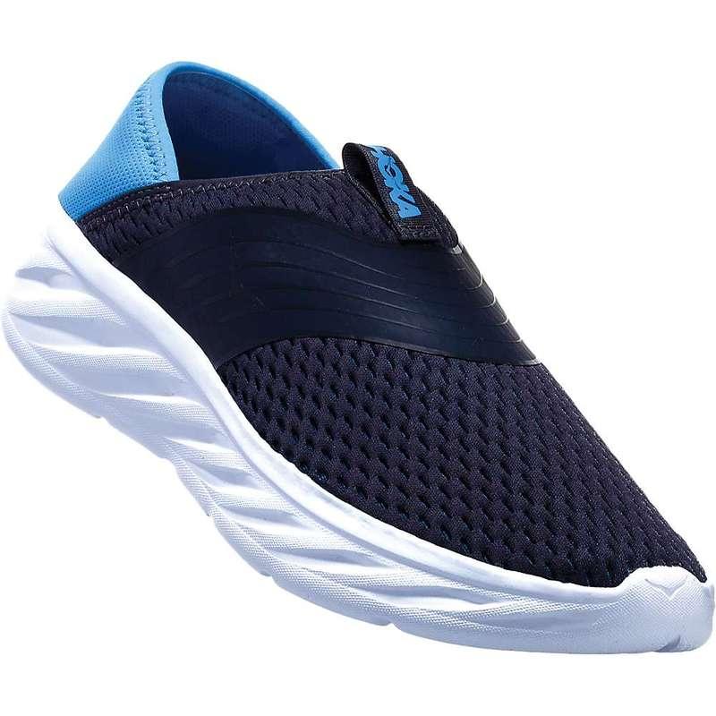 ホッカオネオネ メンズ スニーカー シューズ Hoka One One Men's Ora Recovery Shoe Ebony / Dresden Blue