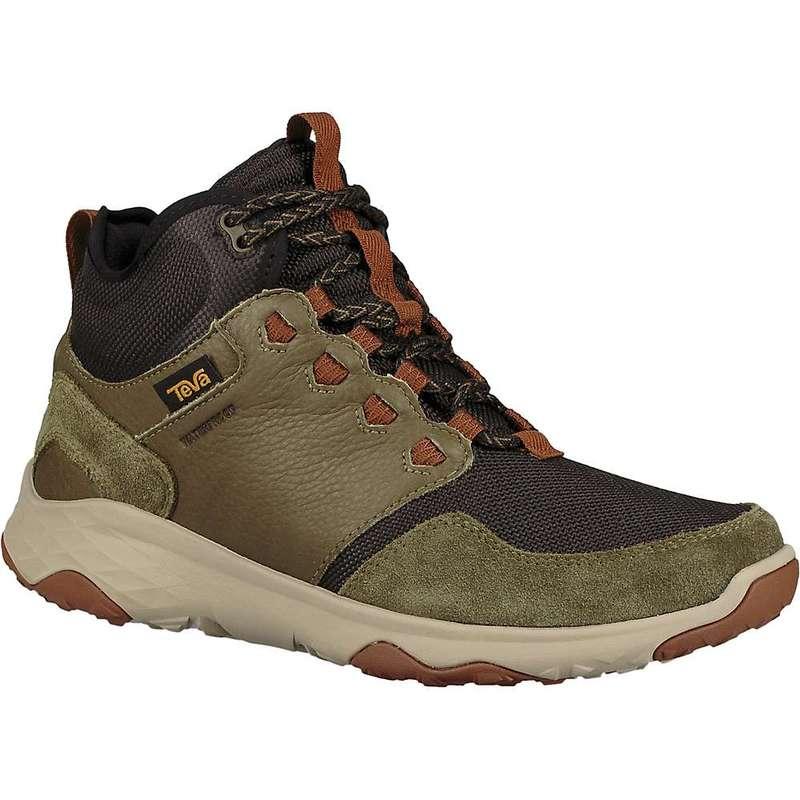 テバ メンズ ブーツ・レインブーツ シューズ Teva Men's Arrowood Venture Mid Waterproof Boot Dark Olive